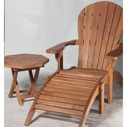 Tekowe krzesło ogrodowe...