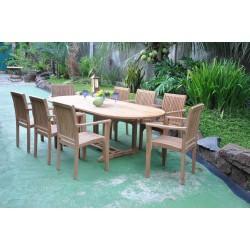 Stół ogrodowy z drewna...